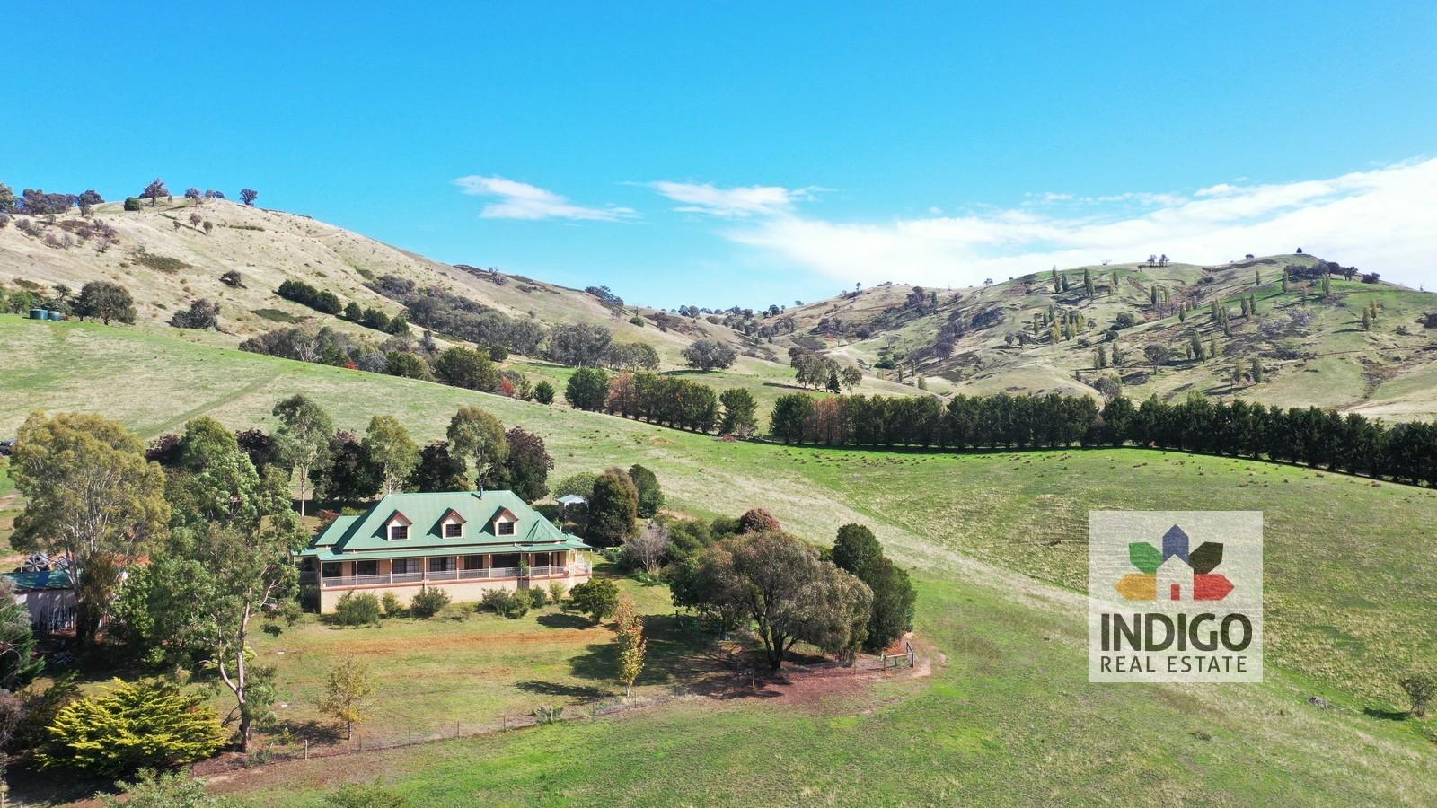 Acreage, Home & Valley Views