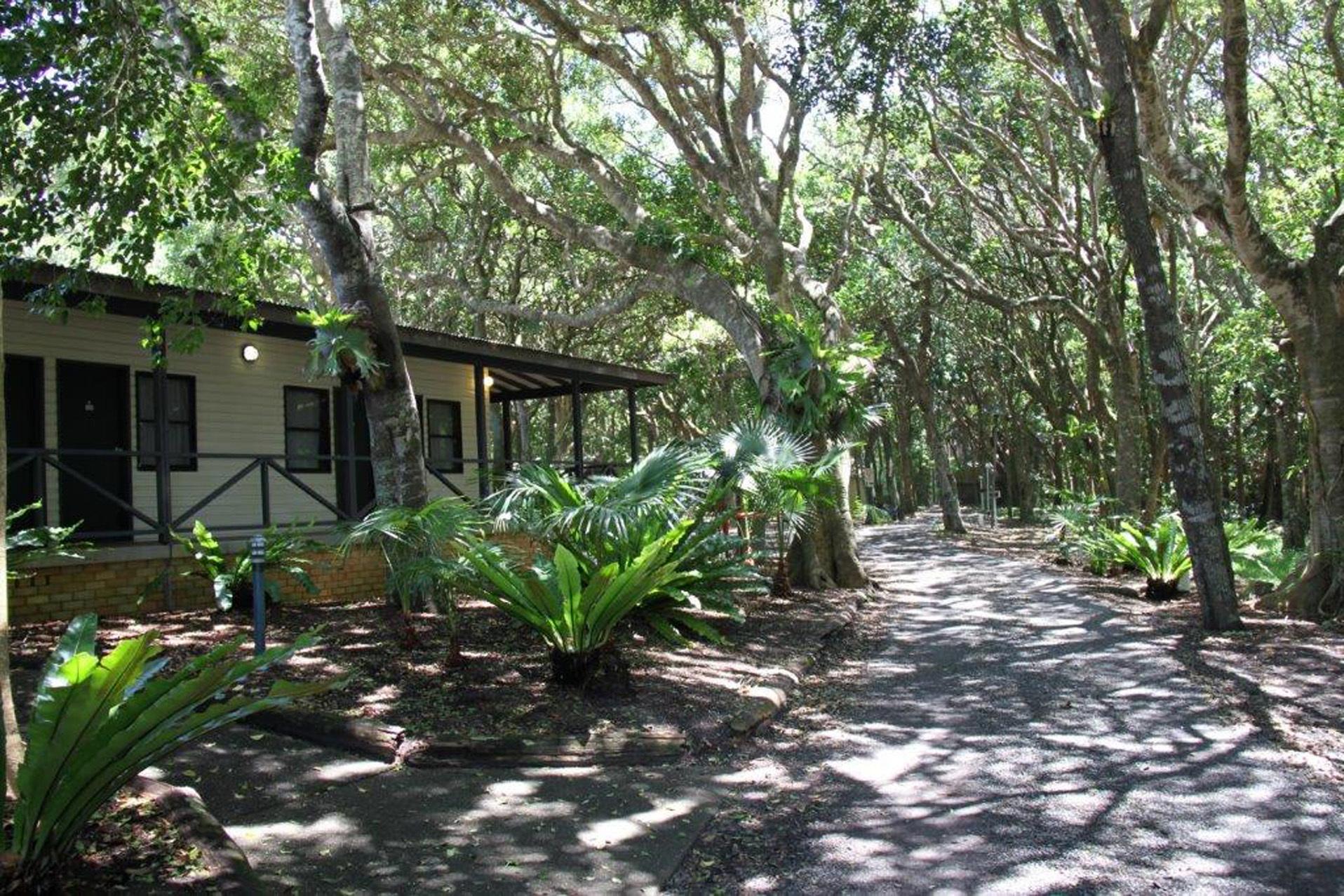 e - Tiona Palms Caravan Park