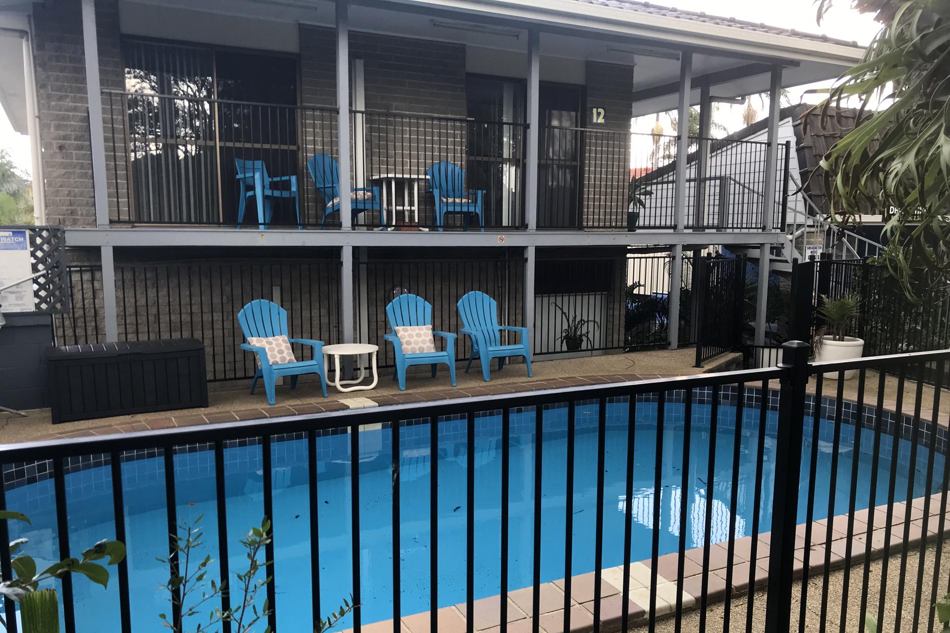 a - Shearwater Motel