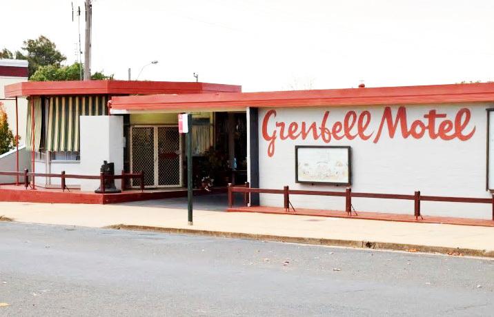 i - Grenfell Motel