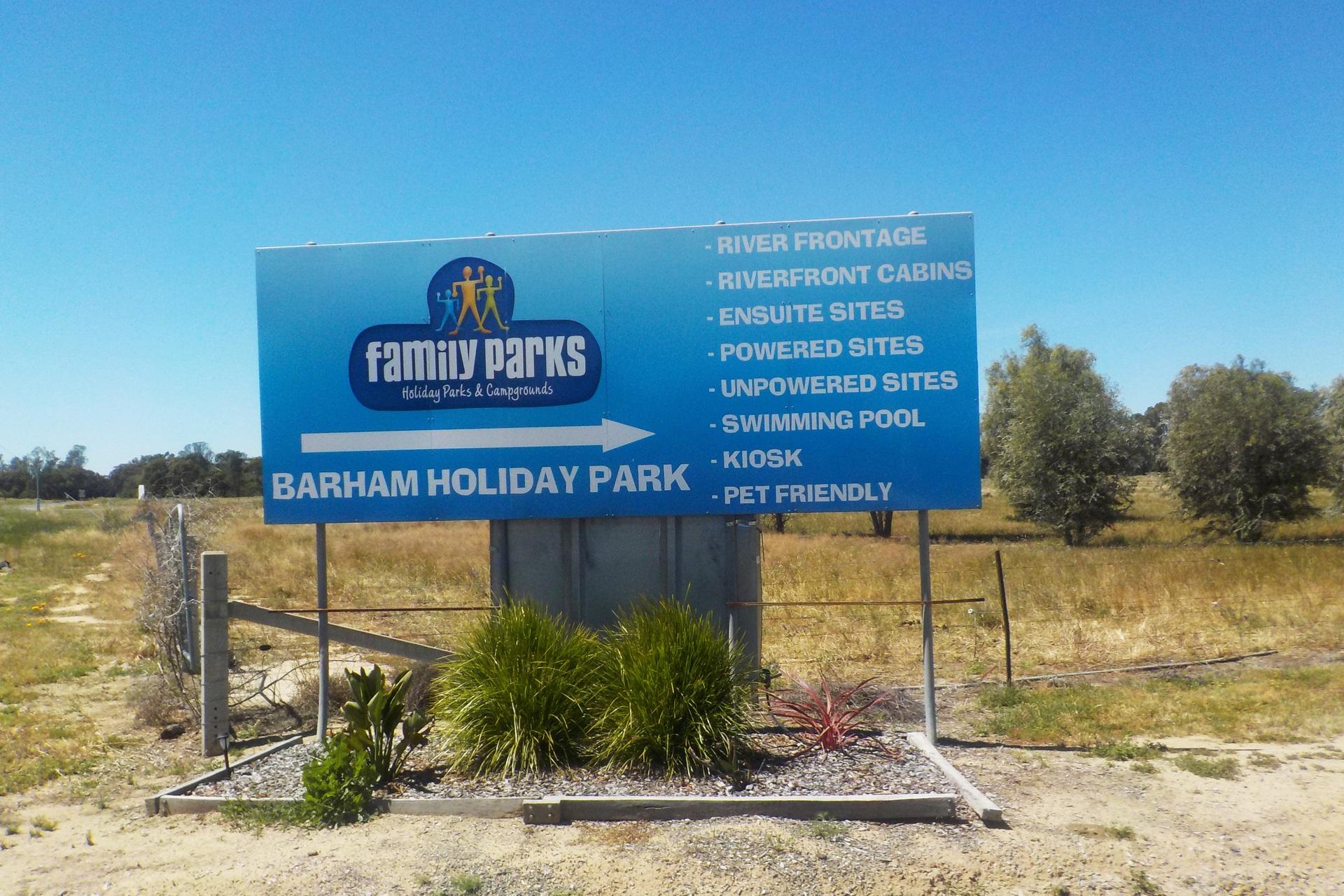 o - Barham Holiday Park