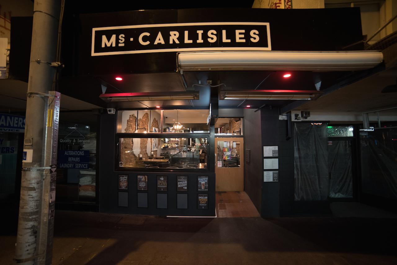 Ms Carlisles