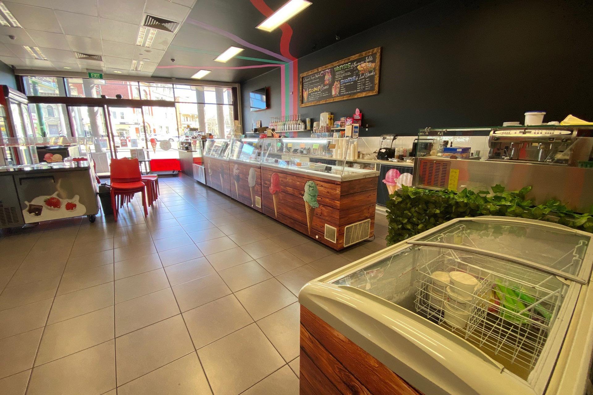 b - Bendigo Ice Creamery