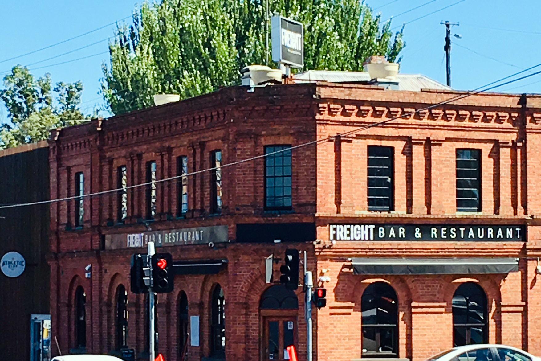 a - Freight Bar & Restaurant