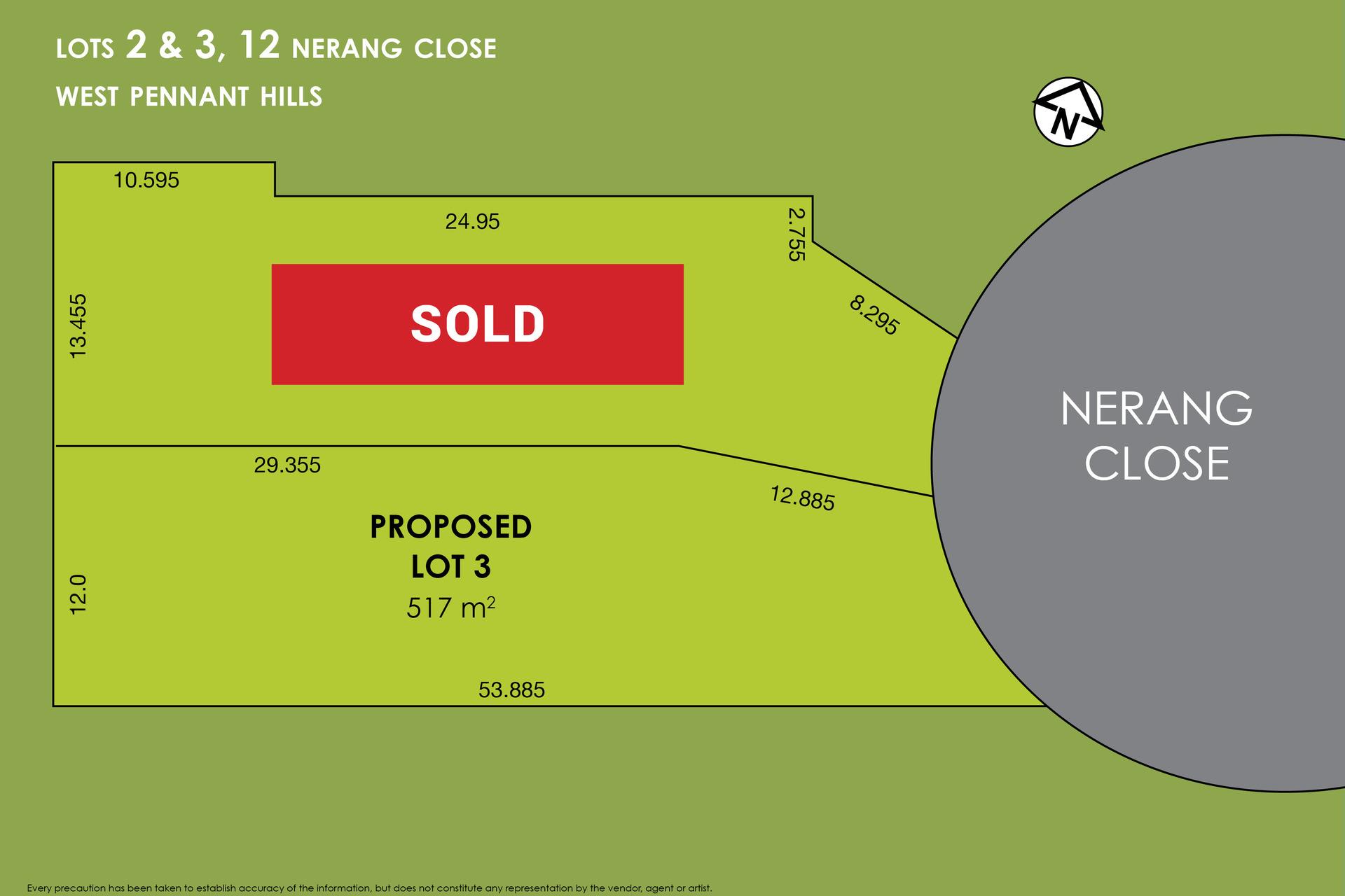 Lot 2, 12 Nerang Close,  West Pennant Hills