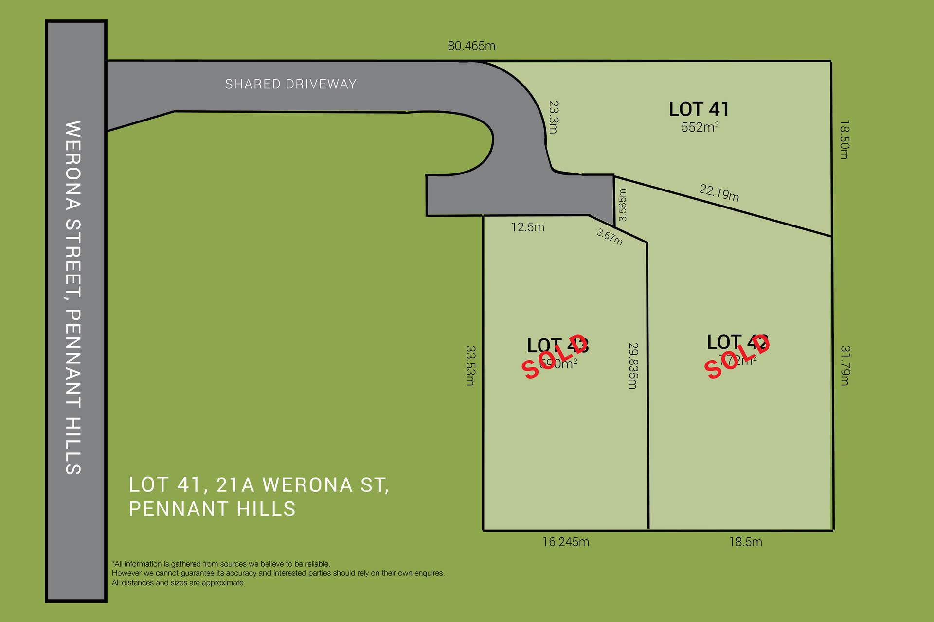 Lot 41, 21a Werona  Avenue,  Pennant Hills