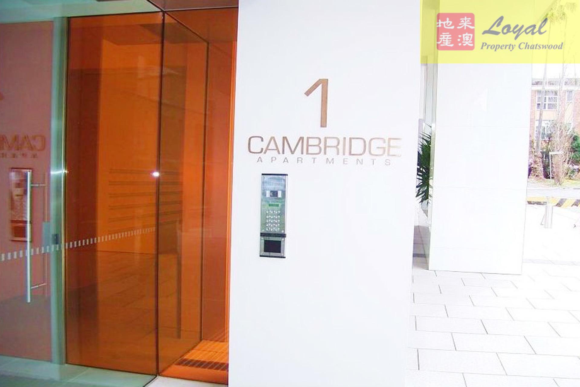 402/1 Cambridge  Lane,  Chatswood