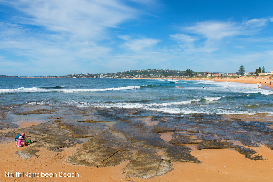 Location Shot North Narrabeen Beach