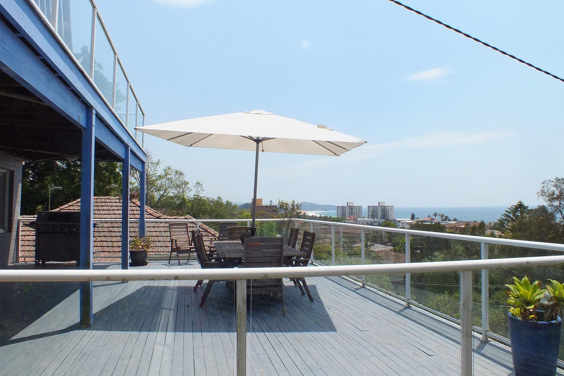 Huge Balcony with Views