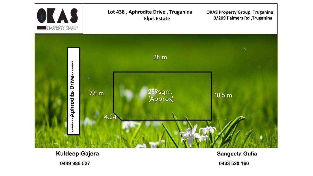 Lot 438,  Aphrodite Drive Truganina VIC 3029